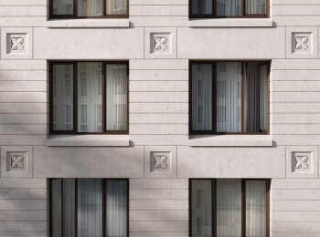 Пример оформления фасада